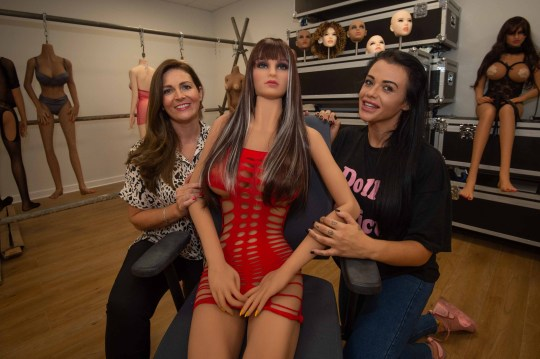 It sounds pure pump fiction, but one company is beating inflation ? by offering the first SEX DOLL rental service. Twenty models from Halesowen?s Sex Doll Official are currently booked out, and orders are increasing each week. caption: Jade Stanley (L) and Steph Kemp (R) are the first in the region to offer a synthetic sex doll hire service
