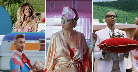 What celebs were in the video for Taylor Swift's You Need To