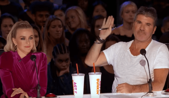 Simon Cowell stops America's Got Talent audition