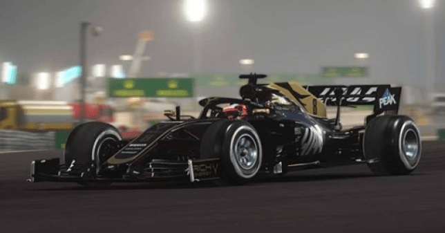 F1 car from F1 2019 game