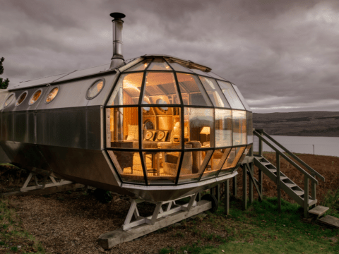 Check out the UK's most unusual homes (and you can actually staycay in them this summer!)