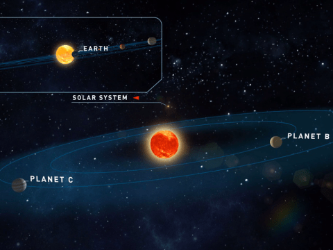 Two 'Earth-like' planets capable of sustaining life found orbiting nearby star