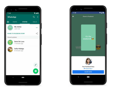 WhatsApp is going to let users post to Facebook and our newsfeeds will get a lot busier