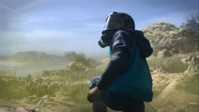 Call Of Duty: Modern Warfare - this shot from the trailer seems to show a child combatant