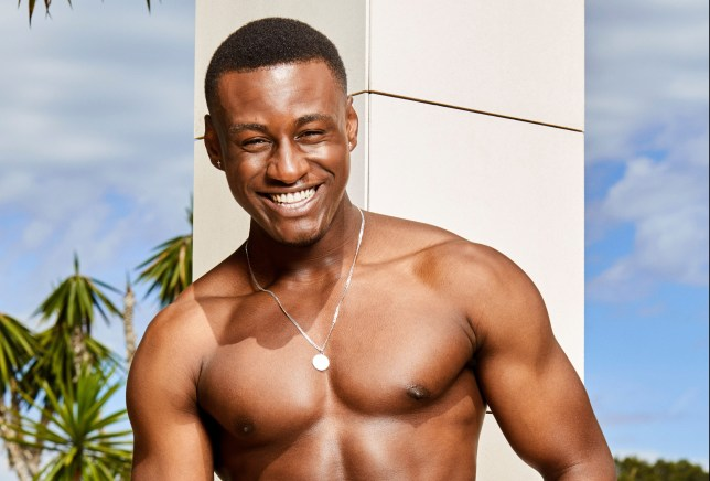 Sherif Lanre who has left Love Island 2019