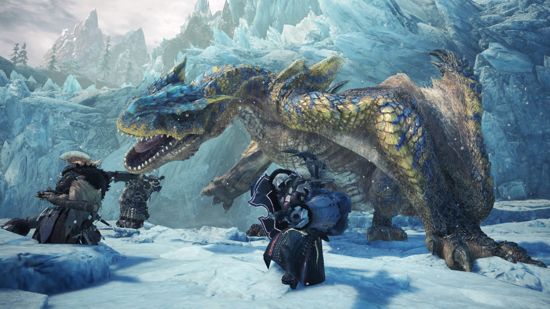Monster Hunter: World - Iceborne - a Tigrex is not an easy mark