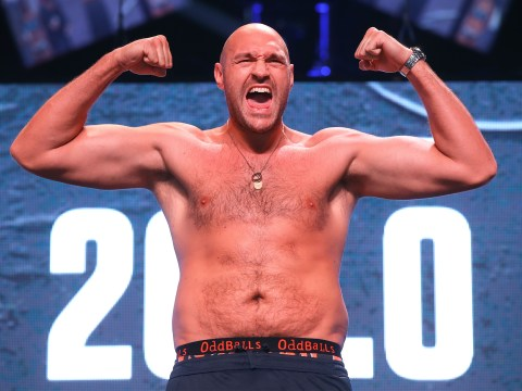 When is Tyson Fury's next fight and what time does it start?