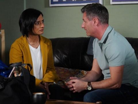 EastEnders spoilers: First look at Nita's shock return to confront Robbie