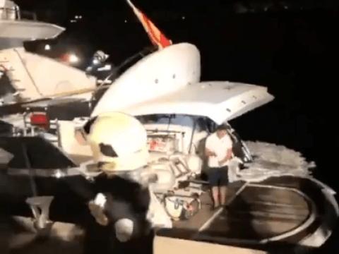 Wladimir Klitschko rescued from burning yacht by Spanish coastguard
