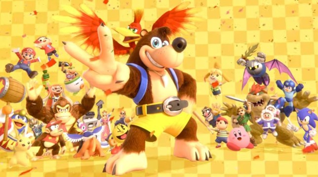 Banjo Kazooie is coming to Smash Bros