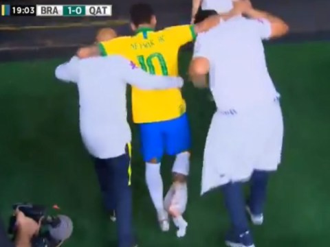 Neymar leaves field in tears as fresh ankle injury rules him out of Brazil's Copa America campaign