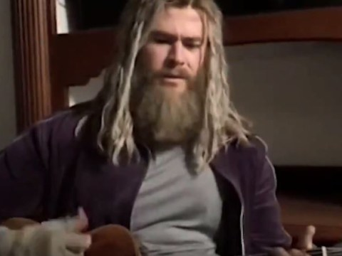 Chris Hemsworth singing Johnny Cash's Hurt as 'Fat Thor' is entirely tragic