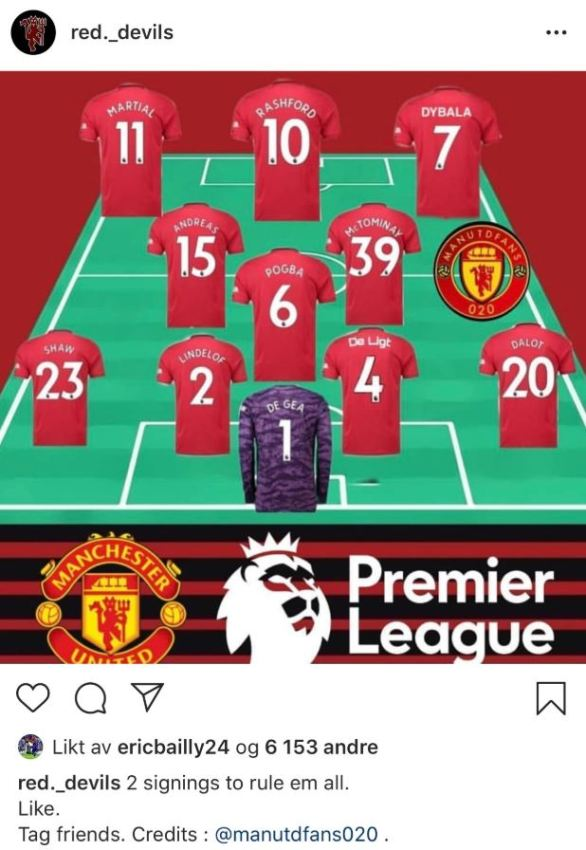 Bailly appears to have taken a swipe at Pogba and Rashford