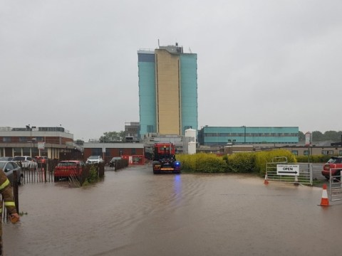 Roads torn up, hospital flooded and more torrential rain on its way across UK