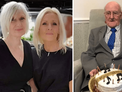Grieving sisters fined £200 because dad's funeral was 48 seconds too long