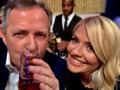 Piers Morgan compares Holly Willoughby to 'all members of Led Zeppelin' as he reveals her off-screen partying antics