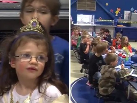 Entire school learns sign language to welcome first ever deaf student, 6,