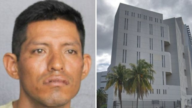 Carlos Cristobal Mazariegos decided to rape his housemate after wandering into her room as she slept and seeing her sleeping next to her boyfriend, police say