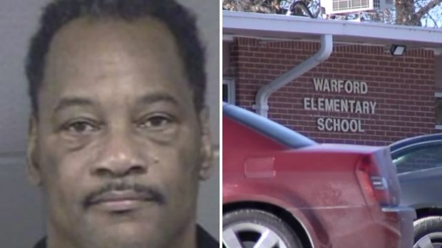 School mentor Gary Curry is accused of sending a nine year-old girl a photo of a penis and making lewd remarks after grooming her while working at Warford Elementary School