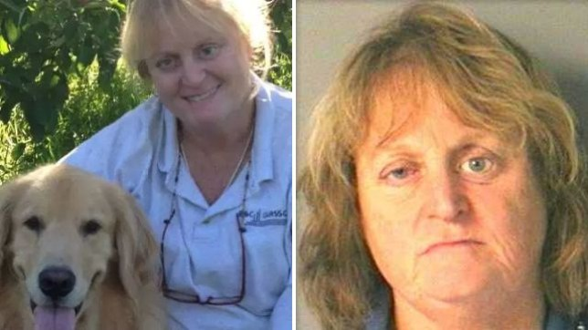Nancy Buciarelli allegedly pushed her elderly golden retriever Bailey into a lake, then sat and watched the stricken dog drown