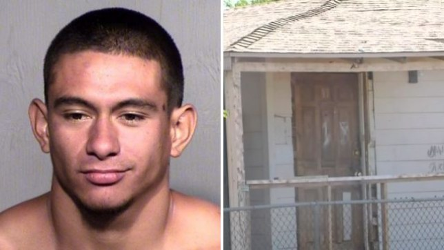 Jose Vega Meza reportedly beheaded his former roommate's pet dog, then smiled at her when she discovered him carrying its corpse