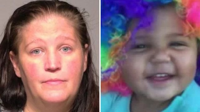 Toddler kicked and screamed in pain as killer mother held her down in scalding bath