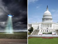 UFOs, US capitol building, donald trump