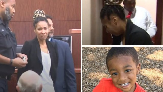 Lexus Stagg screamed, shrieked and convulsed with distress as she was ordered into jail Monday on suspicion of killing her three year-old son Lord Renfro by running him over during a game of chicken