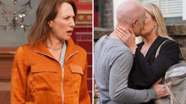 Rainie saw Max and Mel kissing on EastEnders