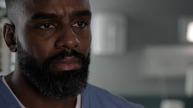 Jacob is sad in Casualty