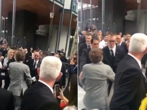 Kate Moss' boyfriend in shocking Paris Fashion Week fight after being mistaken for a fan