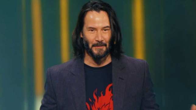 Keanu Reeves at E3
