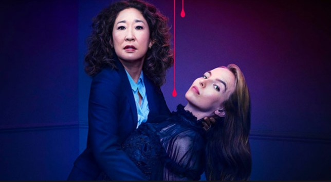 Sandra Oh and Jodie Comer in Killing Eve