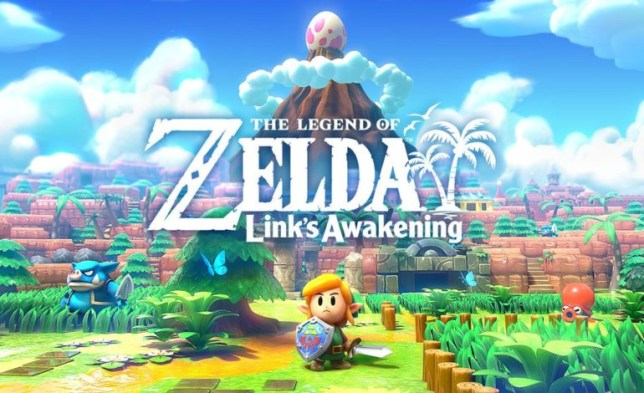 The Legend of Zelda: Link's Awakening logo