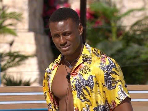 Love Island's Sherif Lanre denies 'pleasuring himself in hot tub' as he addresses 'embarrassing' rumours
