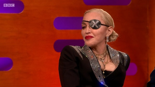 Madonna on The Graham Norton Show