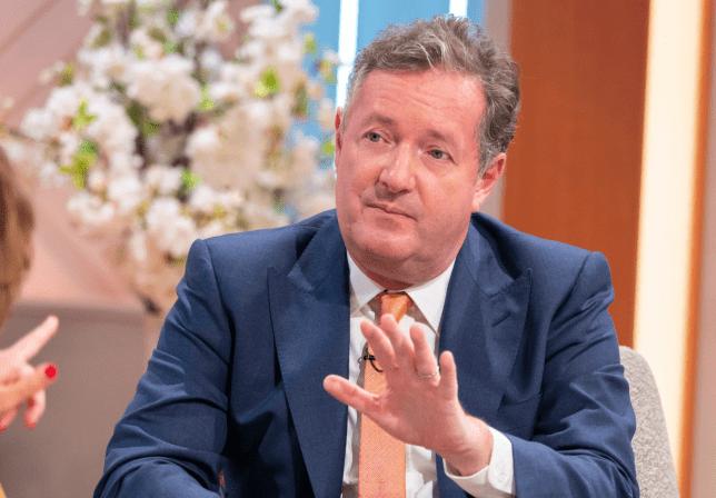 Piers Morgan on Lorraine