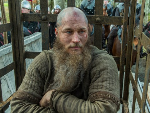 Freezing rain, tears and real snakes: Vikings director Ciaran Donnelly takes us inside Ragnar's violent snake pit death scene