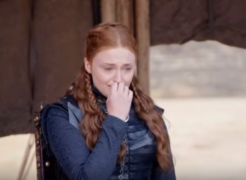 Sophie Turner sobs filming final Game of Thrones scene in heartbreaking video and it's genuinely a hard watch