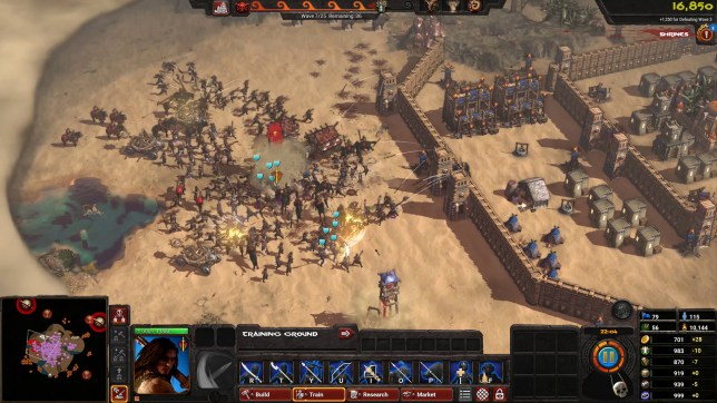 Conan Unconquered (PC) - the best strategy here is to play a different game