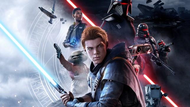 Star Wars Jedi: Fallen Order key art