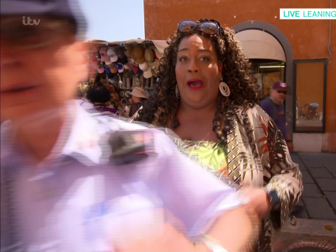 Alison Hammond almost arrested live on This Morning as Italian police stop her filming