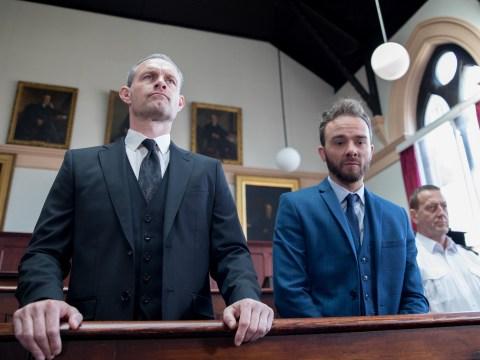 Why is David Platt in prison in Coronation Street?