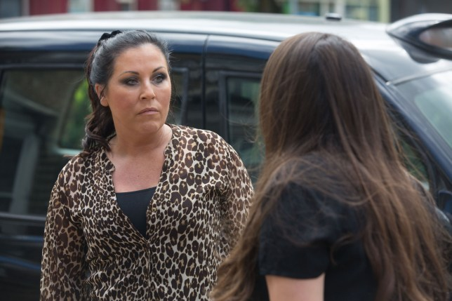 Kat and Stacey clash in EastEnders
