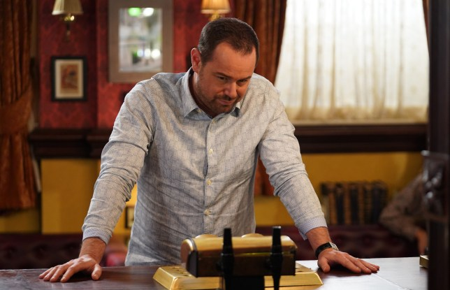 Mick struggles in EastEnders