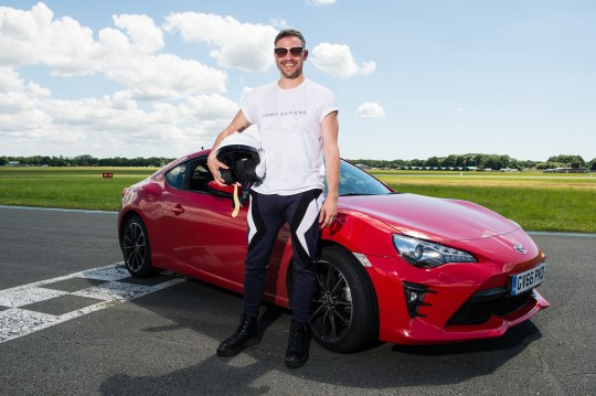 Will Young on Top Gear