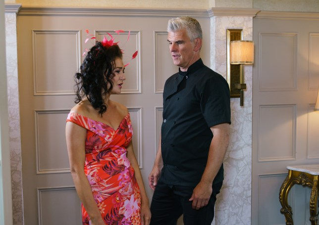 Robert and Vicky might be caught in Coronation Street
