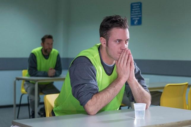 Gary Lucy as Luke Morgan in Hollyoaks