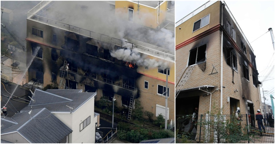 Several dead after arson attack on animation studio in Japan