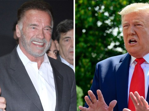 Arnold Schwarzenegger forced to clarify he's very much alive after Donald Trump claims he 'died'